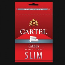 FILTRE TIGARI CARTEL CARBON SLIM 6MM