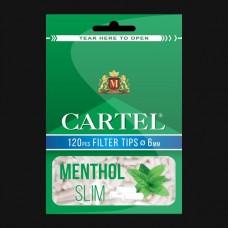 FILTRE TIGARI CARTEL MENTHOL SLIM 6MM